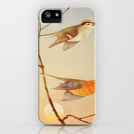 Golden crowned Kinglet Prothonotary Warbler iPhone Case
