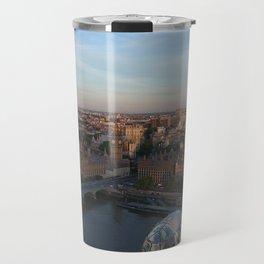 The London Eye of Big Ben Travel Mug