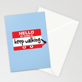 The Red Badge of Discourage Stationery Cards