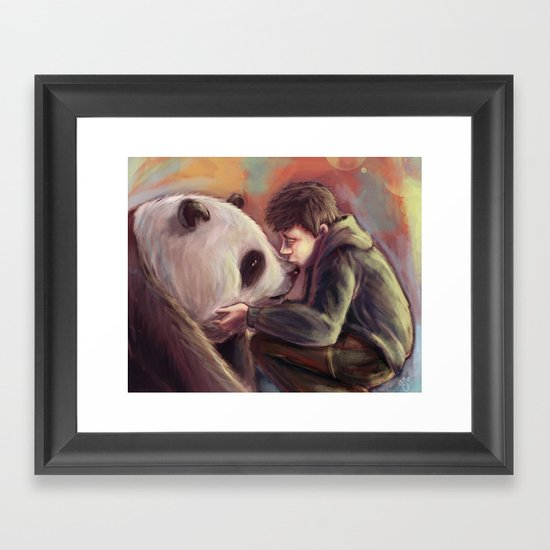 Sweet Giant Framed Art Print