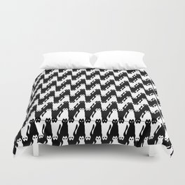 Meowstooth Duvet Cover