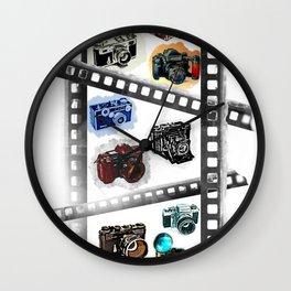 Iconic Cameras! Wall Clock