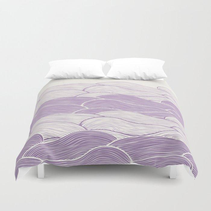The Lavender Seas Duvet Cover