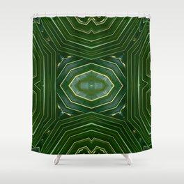 Kaleido Palm III Shower Curtain
