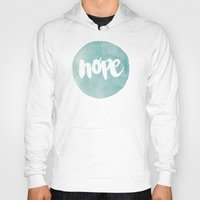 scripture Hoodies featuring HOPE by Pocket Fuel