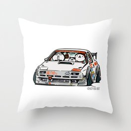 Crazy Car Art 0143 Throw Pillow