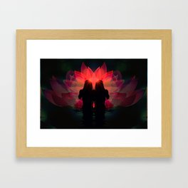 Promises of the Sun Framed Art Print