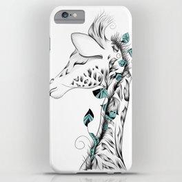 Poetic Giraffe iPhone Case