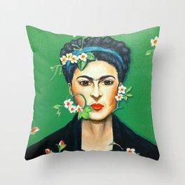 Alheli (Frida Kahlo) Throw Pillow