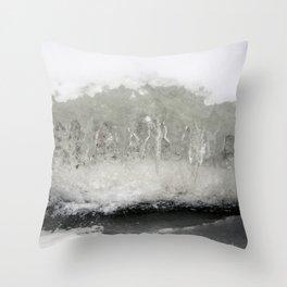 Ice Fantasy Throw Pillow