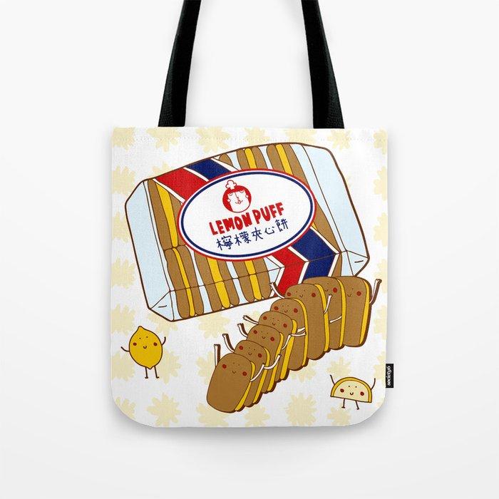 Lemon Puffs Tote Bag