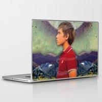 boy Laptop & iPad Skins featuring Boy by Ryan Haran