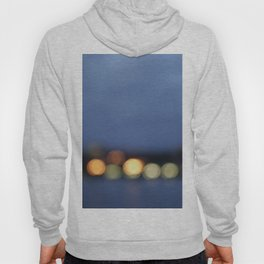 Burlington, Vermont  night lights Hoody
