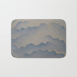 Cloudy Mountains Bath Mat