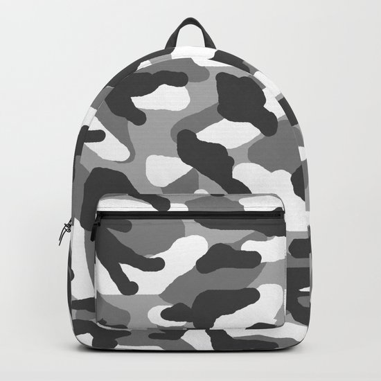 Grey Gray Camo Camouflage by decampstudios