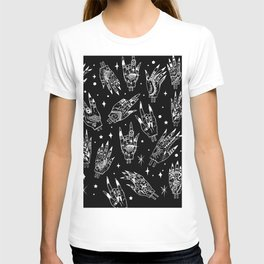 Floating Witchy Goth Hands T-shirt