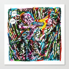 Sharpie, my love 5 Canvas Print