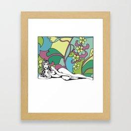 Carte Blanche Nº1 Framed Art Print