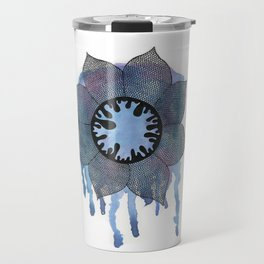 Winter Bloom Travel Mug