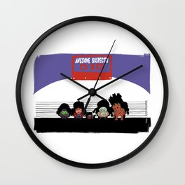 UNUSUAL SUSPECTS : Awesome Wall Clock