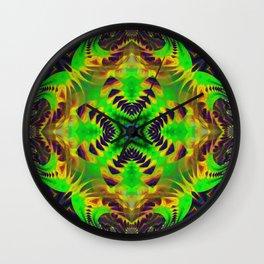 n3 Neu Psychedelic Wall Clock