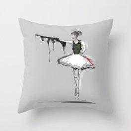 Balletressi Throw Pillow