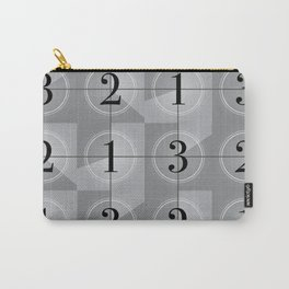 321 Cinema // Old Film Countdown Carry-All Pouch