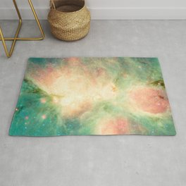 Cat's Paw Nebula Constellation Scorpius Milky Way Galaxy Rug