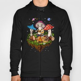 Magic Mushrooms Hippie Fungi Hoody