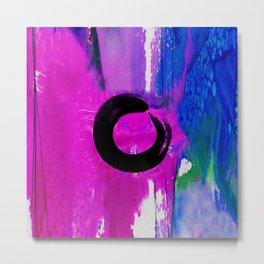Enso Zen Circle No.6e by Kathy Morton Stanion Metal Print