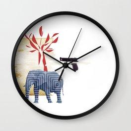9 crimes Wall Clock