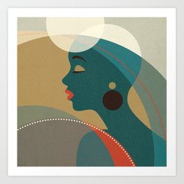 Venn Deco (Part I) Art Print