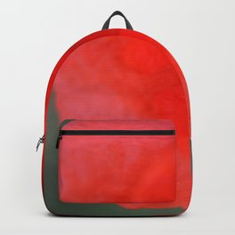 top poppy so red! Backpack