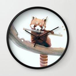 A Winter Morning Song Wall Clock