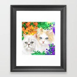 Sam and Sebastian Framed Art Print
