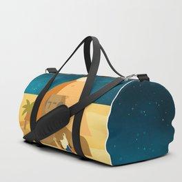 Moon in Egypt Duffle Bag