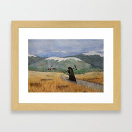 Pesta - a painting of the Plague Framed Art Print