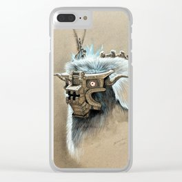 Colossus Killer Clear iPhone Case