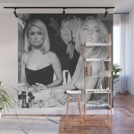 FEUD: Paris and Lindsay Wall Mural