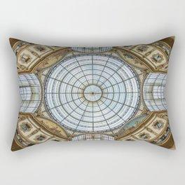 Ceiling of the Galleria Vittorio Emanuele II, Milan Rectangular Pillow