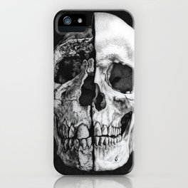 Evolutionary Study of the Human Skull iPhone Case
