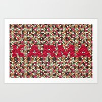 karma Art Prints featuring kARMA by thecatalyst
