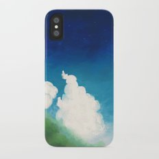 mountain road iPhone X Slim Case