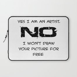 not for free Laptop Sleeve