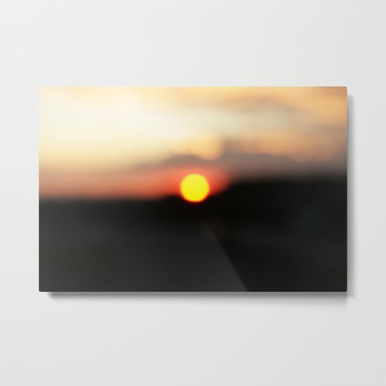 It was all a blur Metal Print