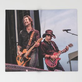Roger Clyne and the Peacemakers shower curtain Throw Blanket