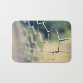 Dreamy Fence Bath Mat