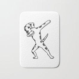 Funny Dabbing Dalmatian Dog Dab Dance Bath Mat