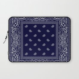 Bandana - Navy Blue - Southwestern Laptop Sleeve