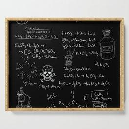 Laboratory Acid Formula Serving Tray